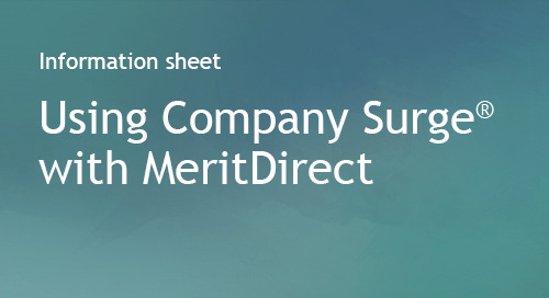 MeritDirect - Partner Information Sheet
