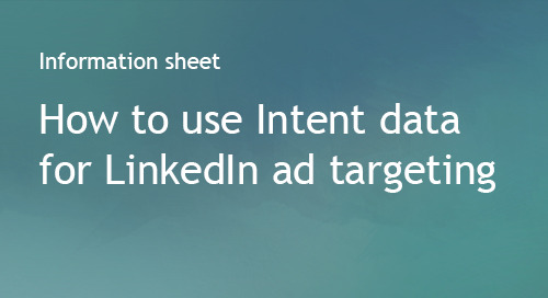 Company Surge® for LinkedIn Ad Targeting