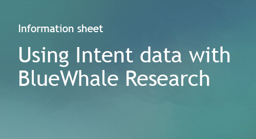 BlueWhale Research - Partner Information Sheet