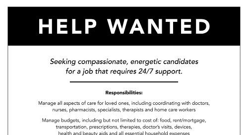 """HELP WANTED"" - Washington Post Ad 11/30/2018"