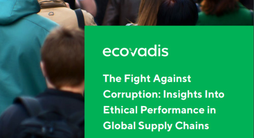 Less Than 10 Percent of Global Companies Report on Business Ethics KPIs, According to New EcoVadis Anti-Corruption Report