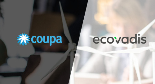 EcoVadis Earns CoupaLink™ Certification