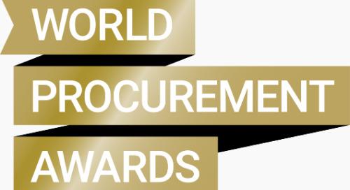 EcoVadis Named Finalist in 2019 World Procurement Awards