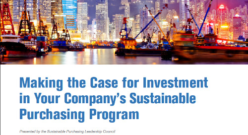 Download the Business Case for Investing in Sustainable Purchasing