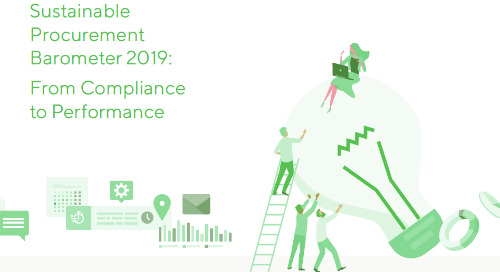 2019 Sustainable Procurement Barometer Infographic
