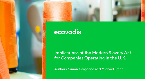 Implications of the Modern Slavery Act for Companies Operating in the U.K.