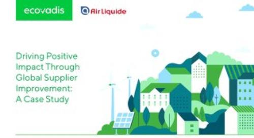 Value Creation Through Sustainable Procurement: Air Liquide Case Study