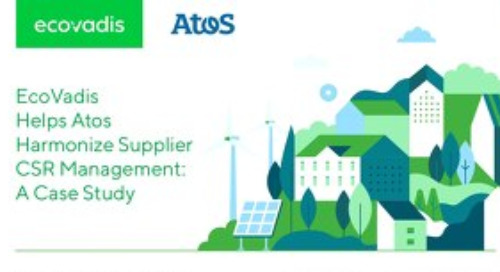 Atos Harmonizes Supplier CSR Management: A Case Study