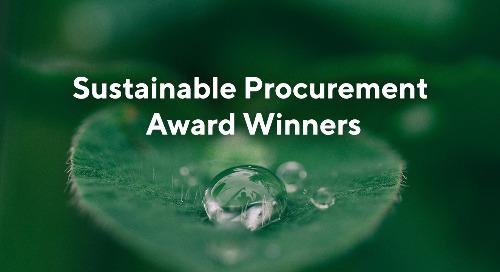 Groupe PSA, Henkel, L'Oréal und Estée Lauder Companies für herausragende Leistungen in der nachhaltigen Beschaffung ausgezeichnet