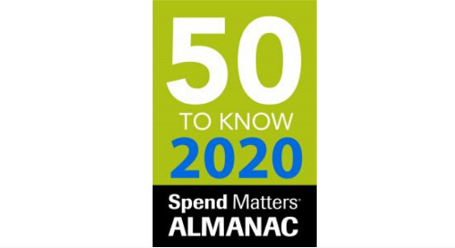 EcoVadis Recognized as a Spend Matters 50 to Know Procurement and Supply Chain Provider for Fourth Straight Year