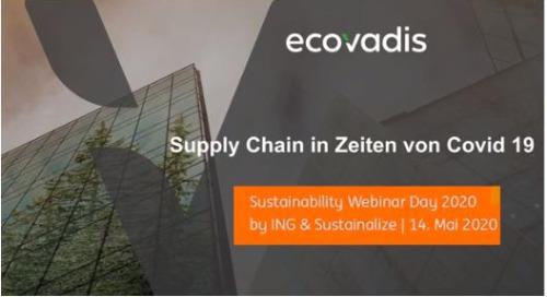 Webinar mit Schindler Aufzüge: Supply Chain in Zeiten von Covid 19
