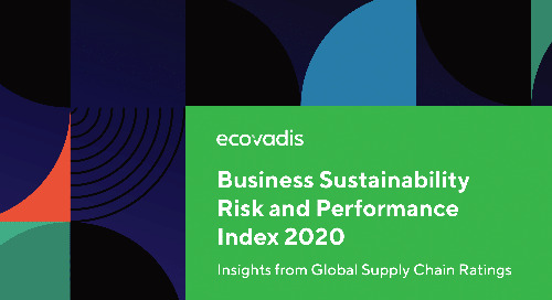 Business Sustainability Risk & Performance Index 2020: Nachhaltigkeitsratings als Schlüssel zur Überwachung der Resilienz von Lieferketten