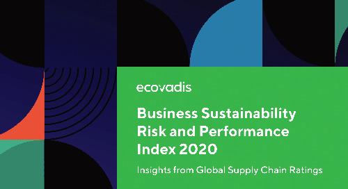 Nachhaltigkeitsleistung in Europa und D-A-CH: Business Sustainability Risk & Performance Index 2020