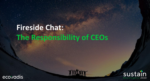 Fireside Chat: The Responsibility of CEOs, Sustain 2020