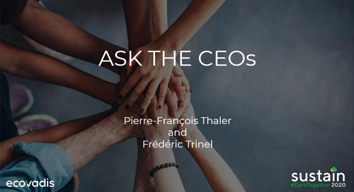 Ask the CEOs, Sustain 2020