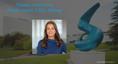 Solvay Purpose in Action: Creating Sustainable Shared Value for All, Sustain 2020