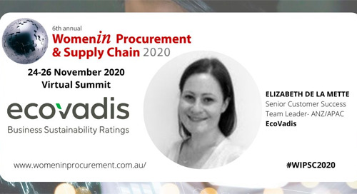 Women in Procurement 2020: Sustainability and Profitability Panel