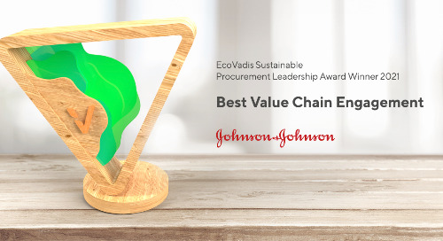 Len DeCandia, Chief Procurement Officer, Johnson & Johnson - Best Value Chain Engagement