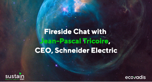 Fireside Chat with Jean-Pascal Tricoire, CEO, Schneider Electric