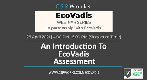 [CSRWorks] An Introduction to the EcoVadis Assessment
