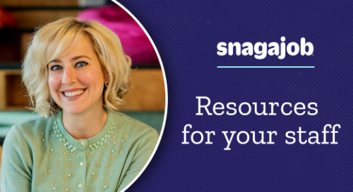 Resources for your staff