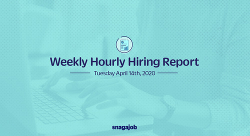 Weekly Hourly Hiring Report 4/14/20
