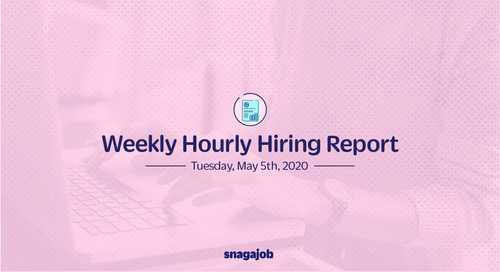 Weekly Hourly Hiring Report 5/5/2020