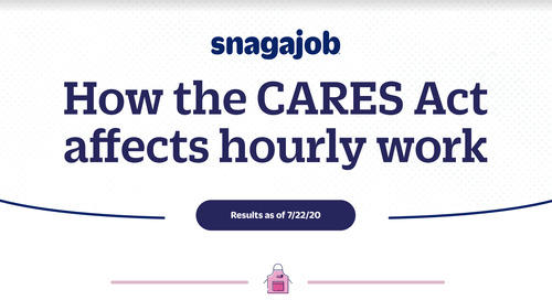 How the CARES Act affects hourly workers