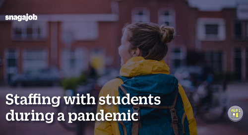 Staffing with Students During a Pandemic