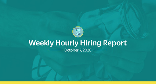 Weekly Hourly Hiring Report 10/6/2020