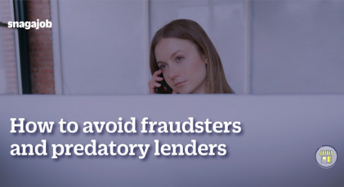 How to avoid fraudsters and predatory lenders