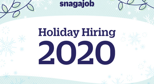 Holiday Hiring 2020 Infographic
