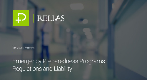 Emergency Preparedness Programs: Regulations and Liability