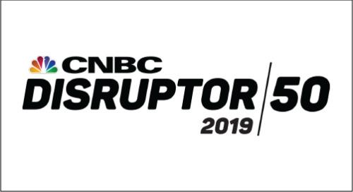 CNBC Disruptor 50 - 2019