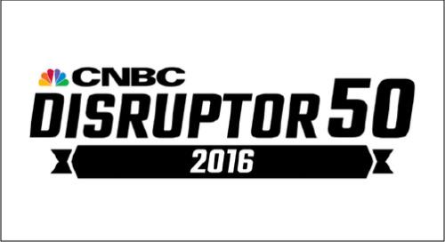 CNBC Disruptor 50 - 2016