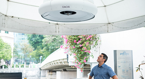 Phononic and Temasek Foundation Introduce First-of-its-kind Sustainable Outdoor Active Cooling in Singapore