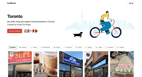 Localhood Is Now Live in Toronto!