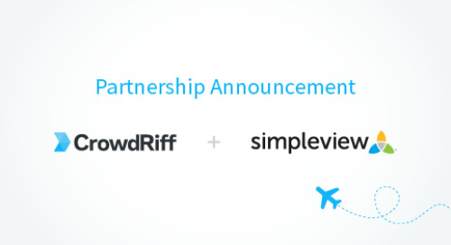 CrowdRiff and Simpleview Partner To Deliver UGC Software and Services Globally