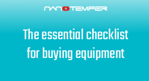 The essential checklist for buying equipment