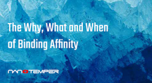 The why, what and when of binding affinity