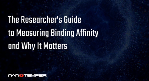 The researcher's guide to measuring binding affinity and why it matters