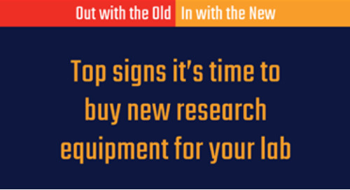 Top signs it's time to buy new research equipment for your Lab