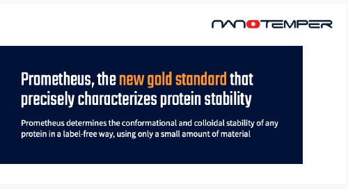 Prometheus, the new gold standard that precisely characterizes protein stability