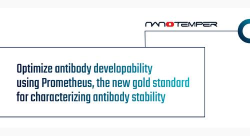Optimize antibody developability using Prometheus, the new gold standard for characterizing antibody stability