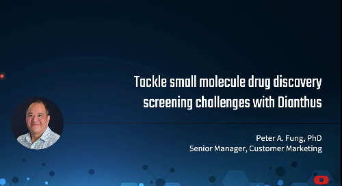 Tackle small molecule drug discovery screening challenges with Dianthus