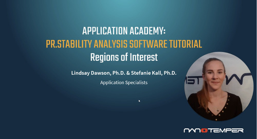 Prometheus Application Academy | PR.Stability Analysis software Regions of Interest tutorial