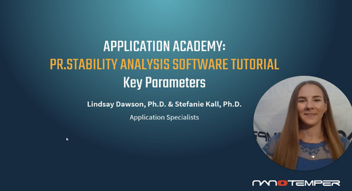 Prometheus Application Academy | PR.Stability Analysis Software Key Parameters Tutorial