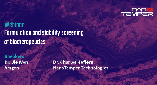 Formulation and stability screening of biotherapeutics