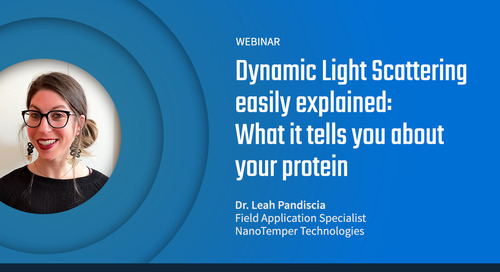 DLS easily explained: What it tells you about your protein