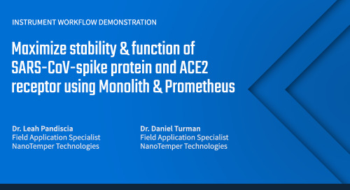 Maximize stability & function of SARS-CoV-spike protein and ACE2 receptor using Monolith & Prometheus